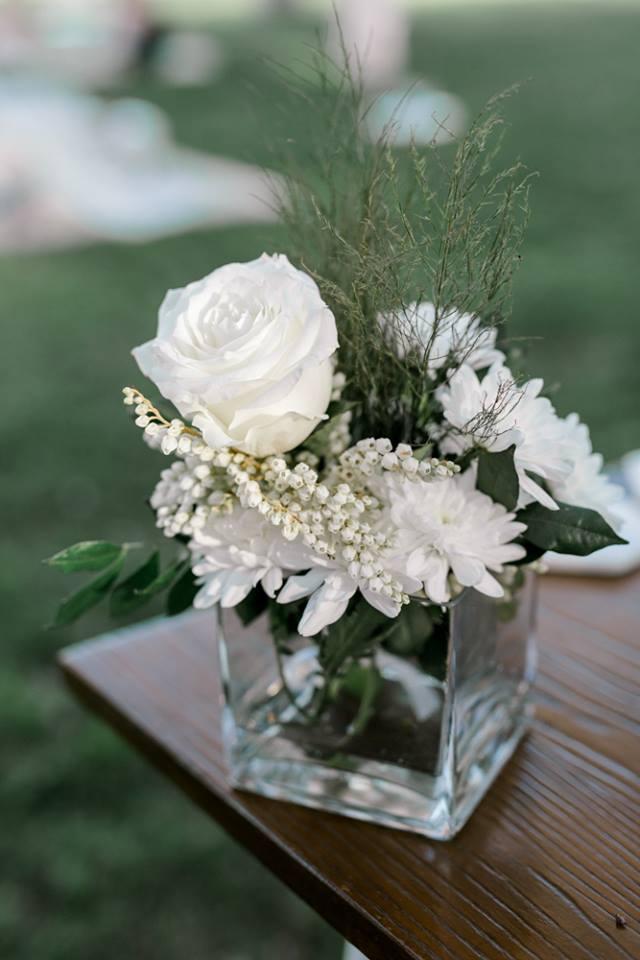 Brisbane wedding ceremony flowers