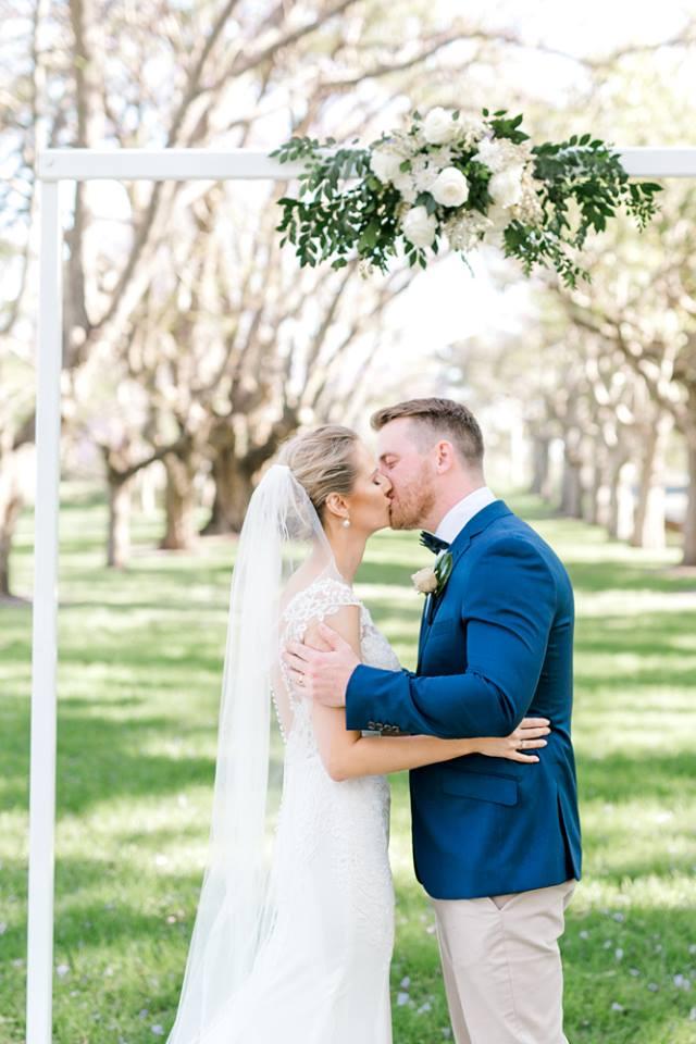 Brisbane wedding decor hire arch