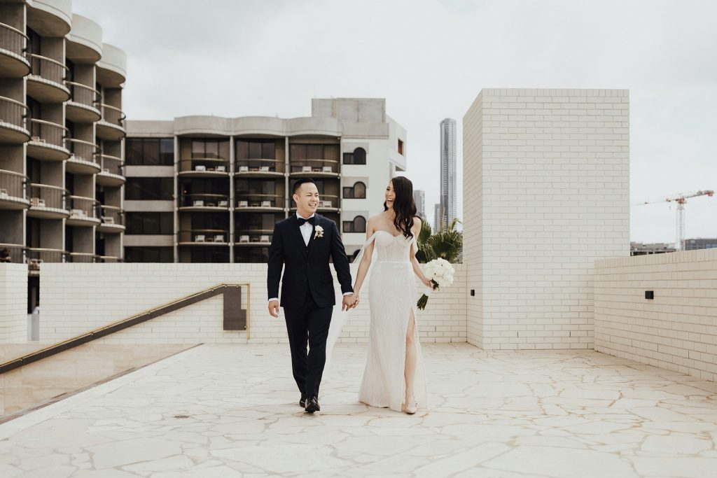 Calile Hotel Rooftop Elopement Brisbane