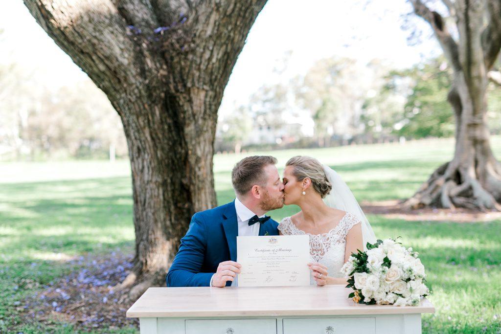 wedding with celebrant Cara