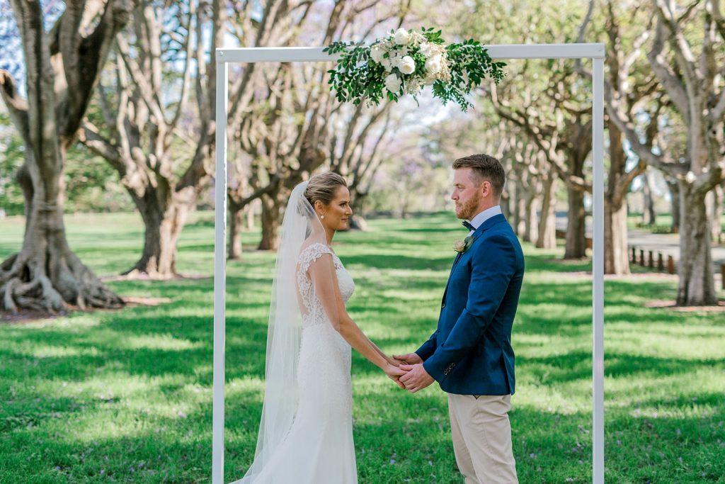 Colmslie Beach Reserve wedding