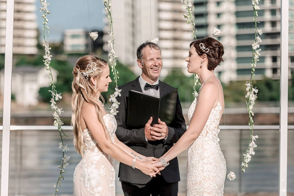 Same-sex wedding Celebrant Brisbane
