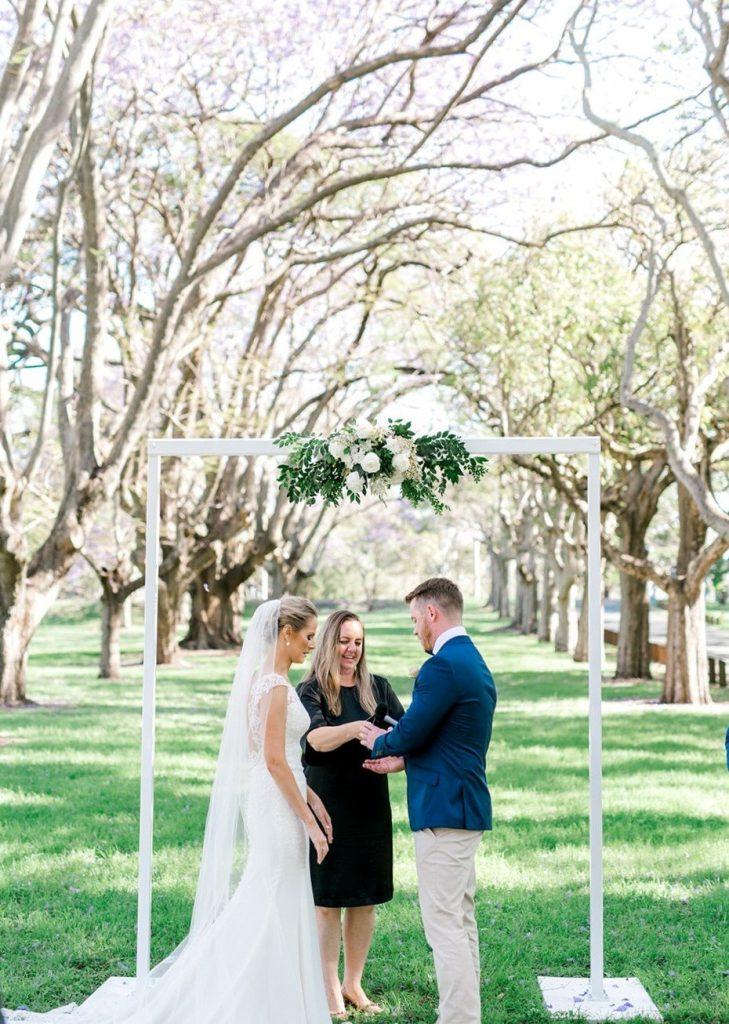 Small wedding Brisbane