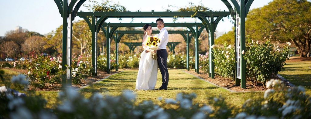 New Farm Park Elopement locations